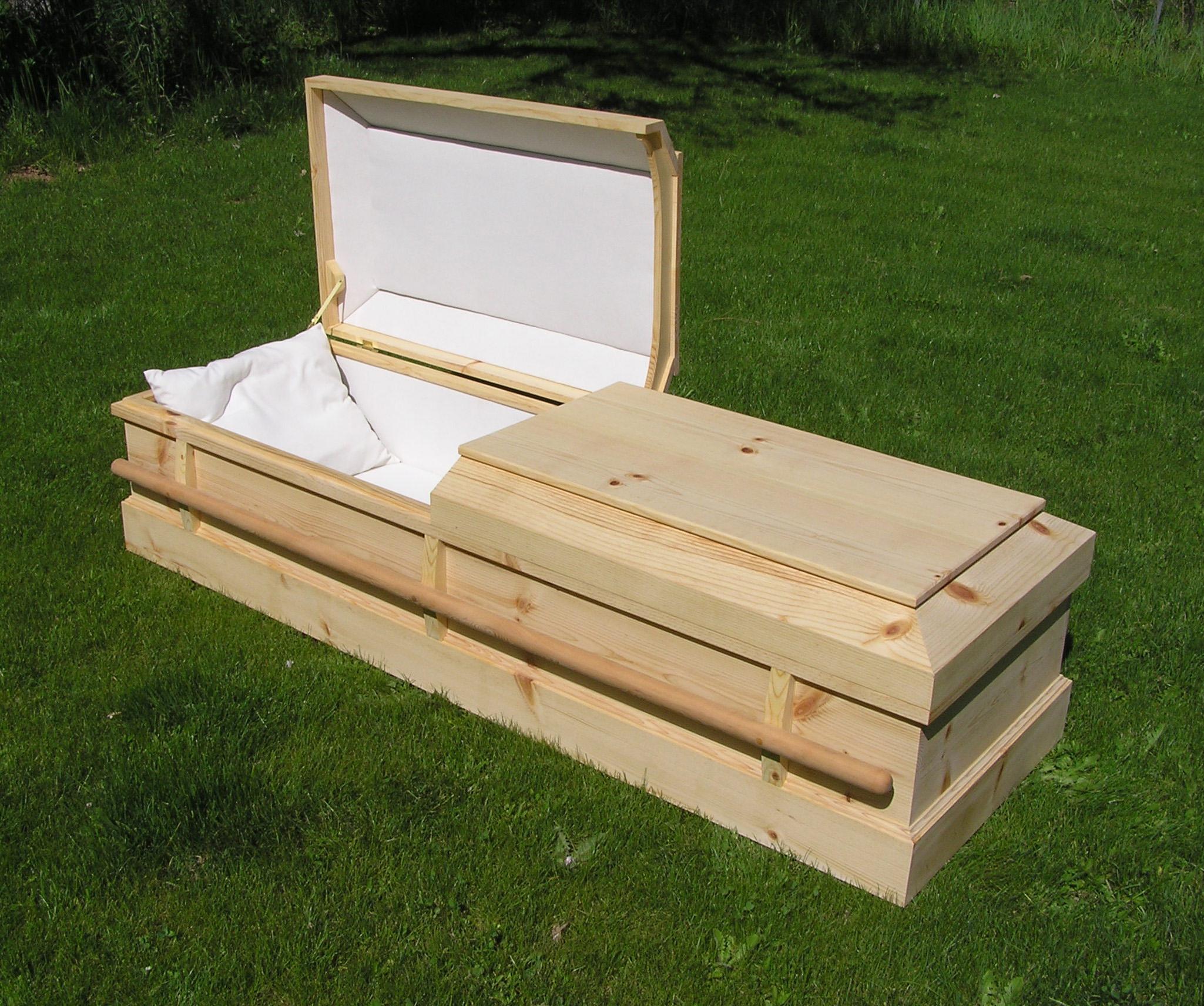 Pine Box Casket Burial Caskets Pine Box Kits Pictures